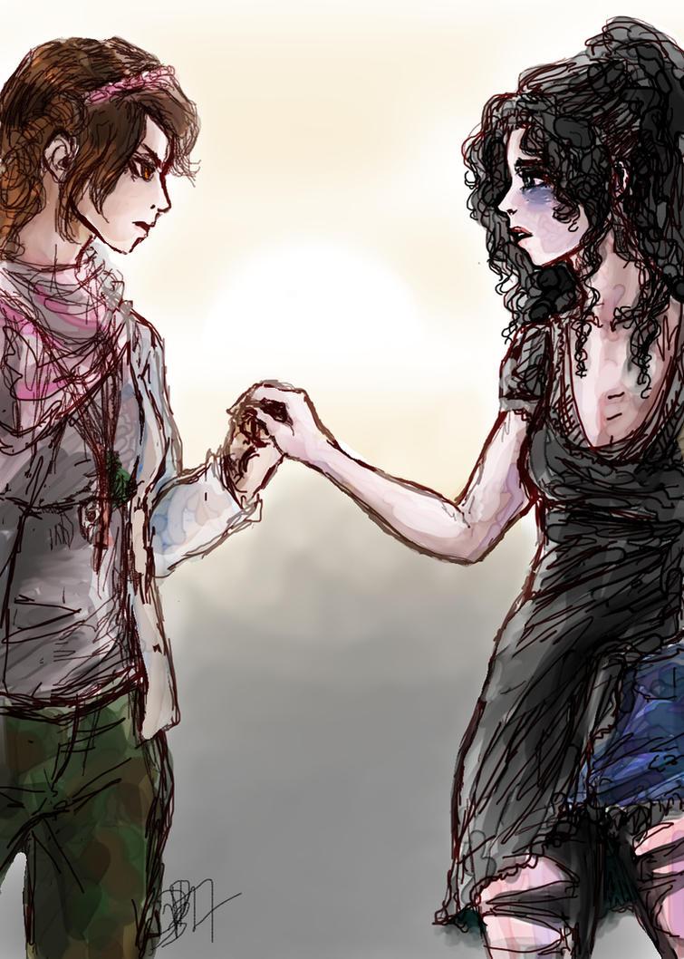 Girls That Glitter Love The Dark by DarionDamage