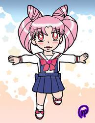 Chibi Comm 2-Chibiusa Uniform