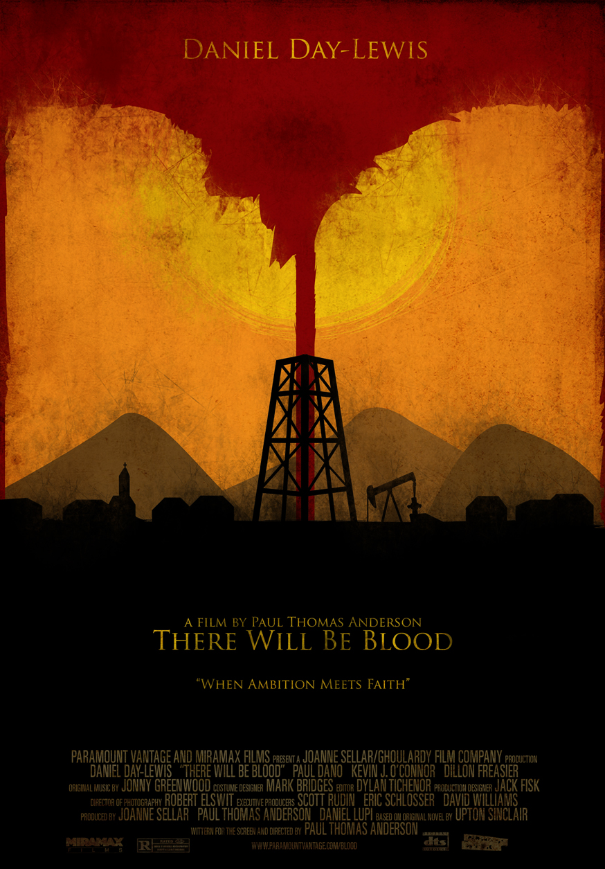 There Will Be Blood poster by the-amazing-bob on DeviantArt