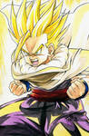 Gohan, Cell Games