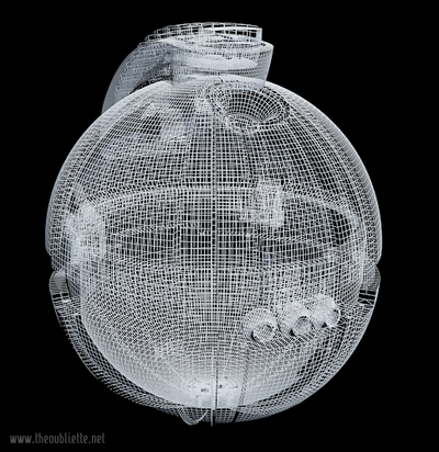Wireframe Detonator by The-Oubliette