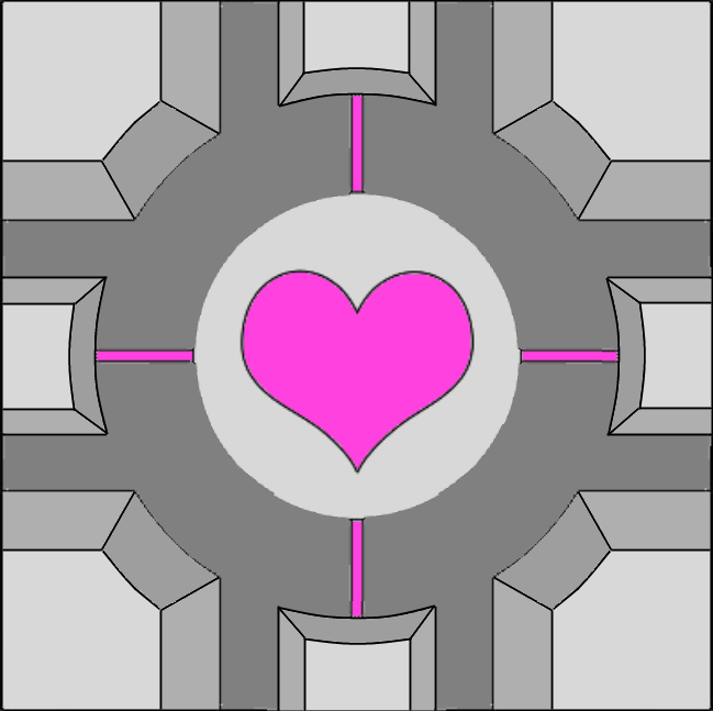 portal 2 how to take the companion cube with you