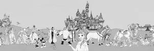 Fresque Disney Pixar   Pendorium