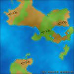 World Map by dakinquelia