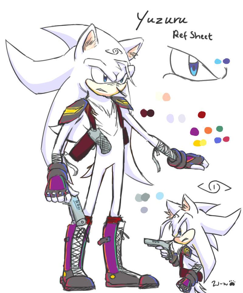 Sonic OC Yuzuru By Winded wolf On DeviantArt