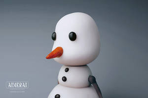 Mr. Snowman by AimeraiDesigns