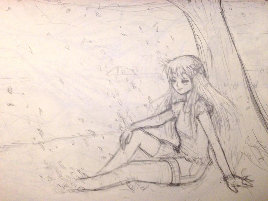 Maya y el cerezo by Umikolove