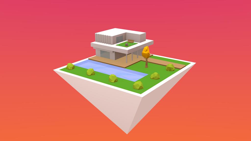 Floating House by NoSmokingBandit