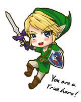 True Hero by LordZaix