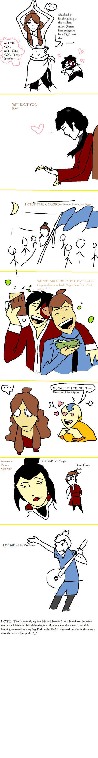The Avatar Music Meme by arelia-dawn