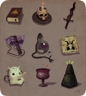 Occult items