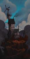 House on a hill by henrikutvonen