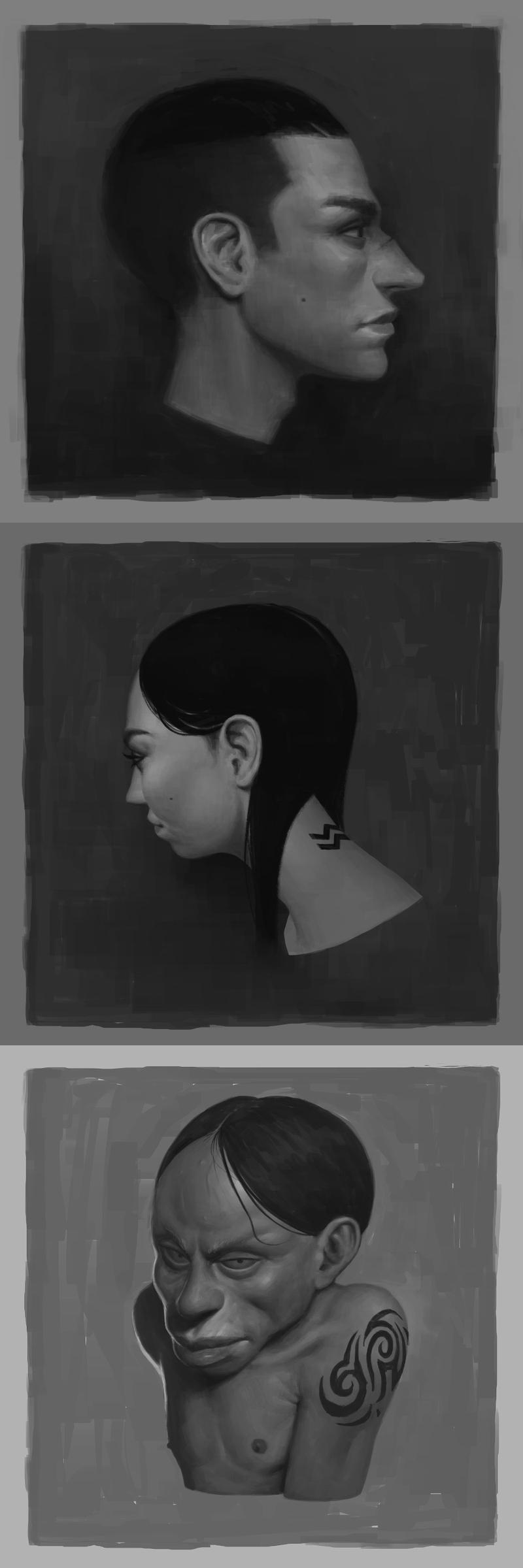 3 Faces by henrikutvonen