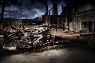 b_BurntBike by RichardjJones