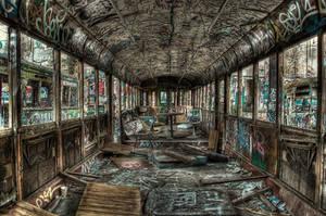 Harold Park Trams6 by RichardjJones