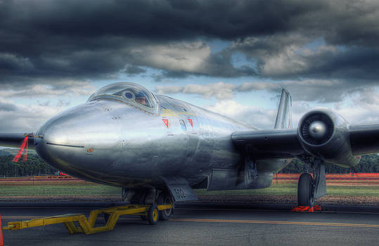 Gloster Meteor jet aircraft