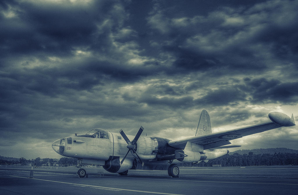 Lockheed P-2 Neptune by RichardjJones