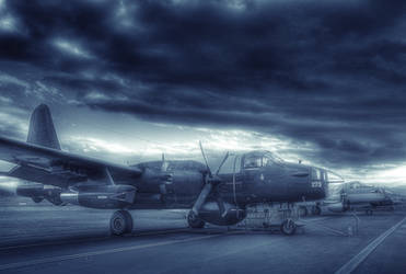 Lockheed P-2 Neptune by RichardjJones