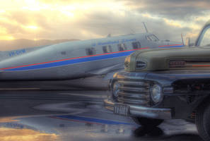de Havilland Beaver + Ford