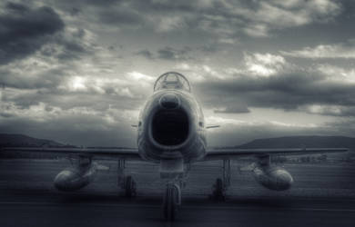 F-86 Sabre fighter aircraft
