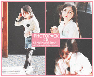 [Photopack #6]  KID MODEL by camcute