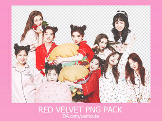 #2 PACK RENDER - RED VELVET by camcute