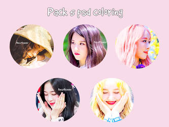 [210617] : PACK PSD COLORING #01 by camcute