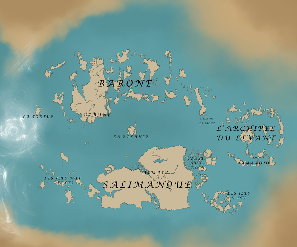 Carte du monde by Amarna