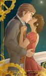 B day gift : Syl x Quint, dah kiss