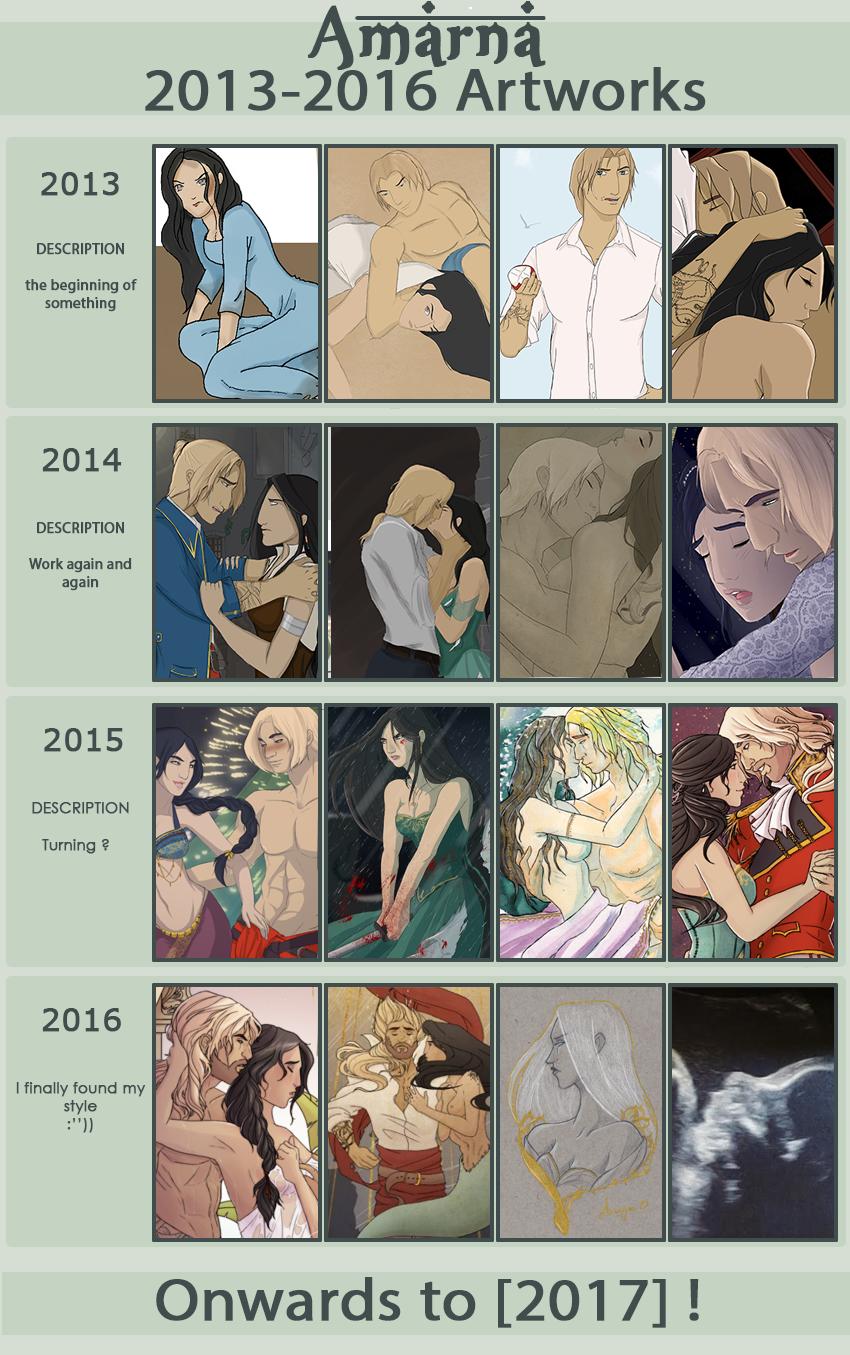 Improvement Meme 2013 - 2016 by Amarna