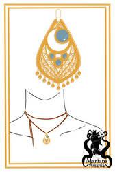 Farah'pendant by Amarna