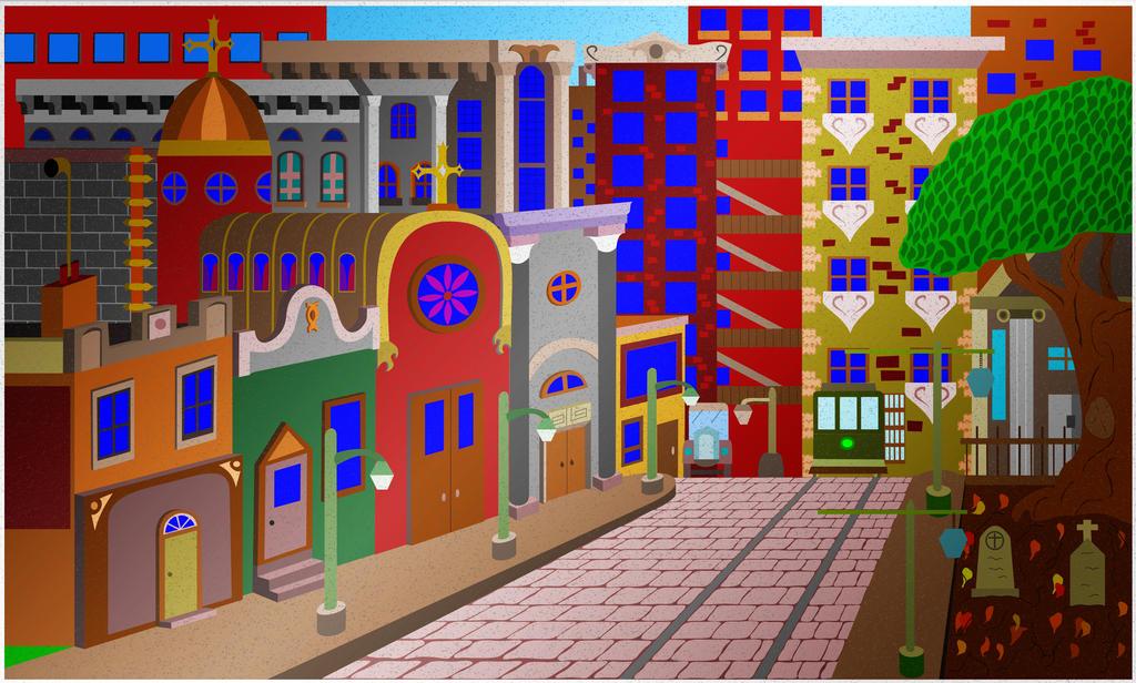 The Old City by MiiiiiYao