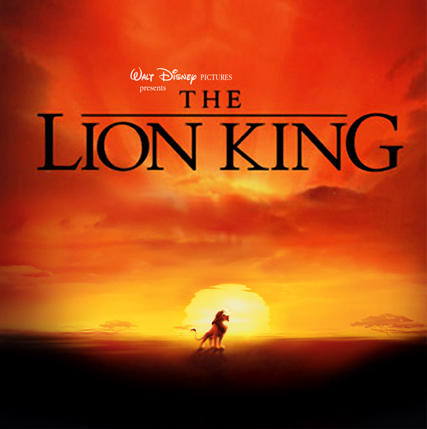 The Lion King Front CD Cover by peachpocket285
