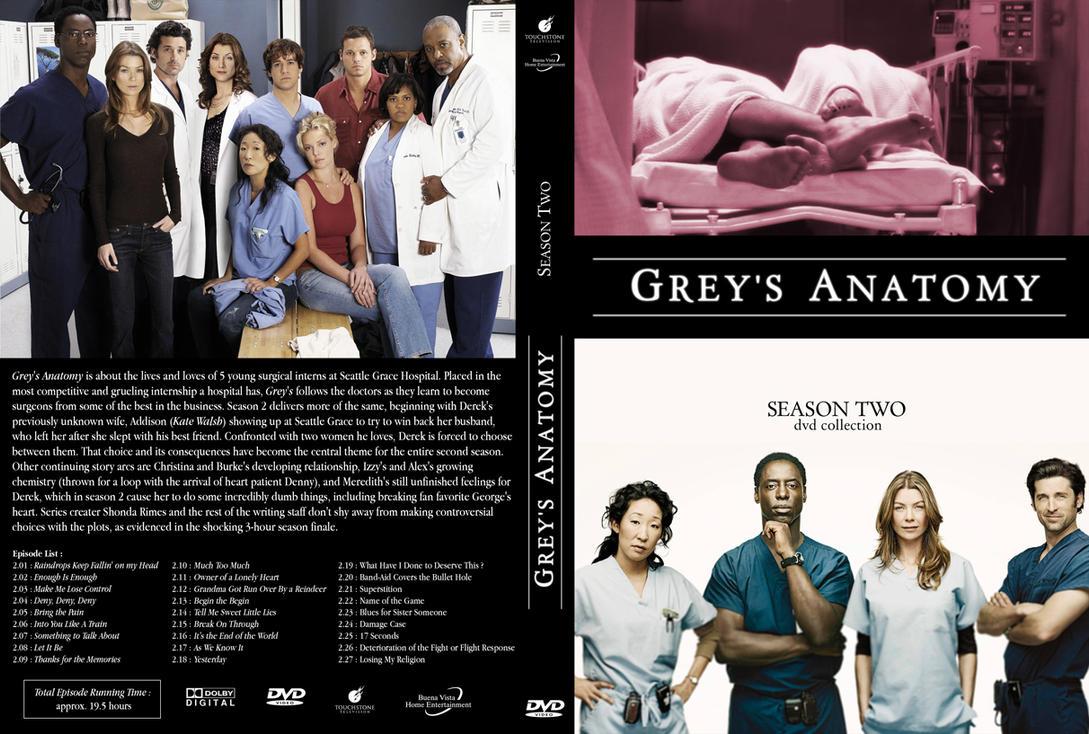 Grey\'s Anatomy S2 Fan Cover by peachpocket285 on DeviantArt