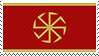 Kolovrat/Svarga flag stamp by vvrx