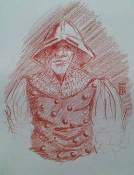 sketch2015 - soldier Warhammer