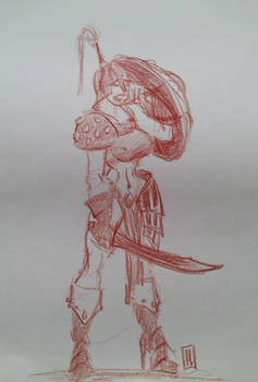 sketch2015 - warlady