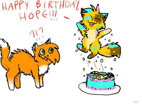 Happy Birthday, Hope!