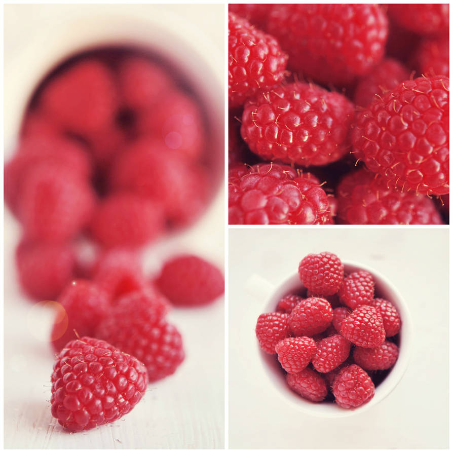 Raspberry Collage by Tracys-Place