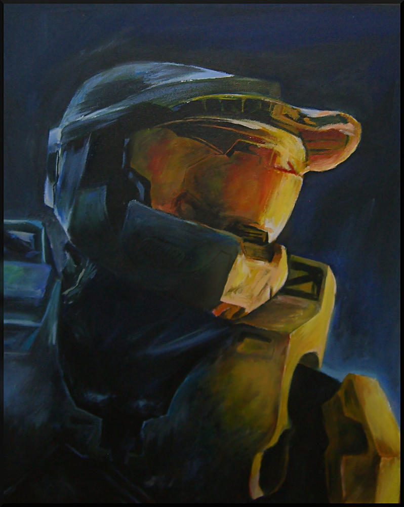 Halo 3: Master Chief by conniekidd