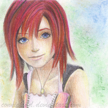 Kairi: 'I'm always with you.' by conniekidd