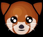 Red Panda Emote by conniekidd