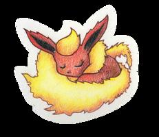 Fluffy Flareon by conniekidd