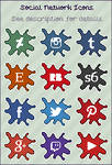Social Network Icons - Free Resource