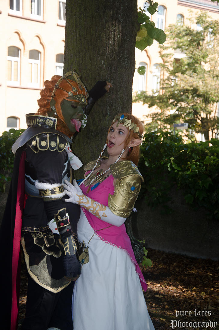 [OUTTAKE] awesome (Ganondorf's) tongue is awesome by pure-faces