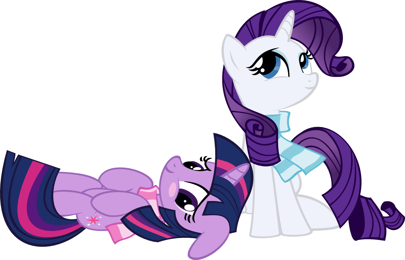 Rarity Pony R34 Rarity and Twilight by...