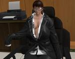 Lei Fang's Saggy Suit