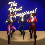 The Velvet Magicians! by Flashcat77