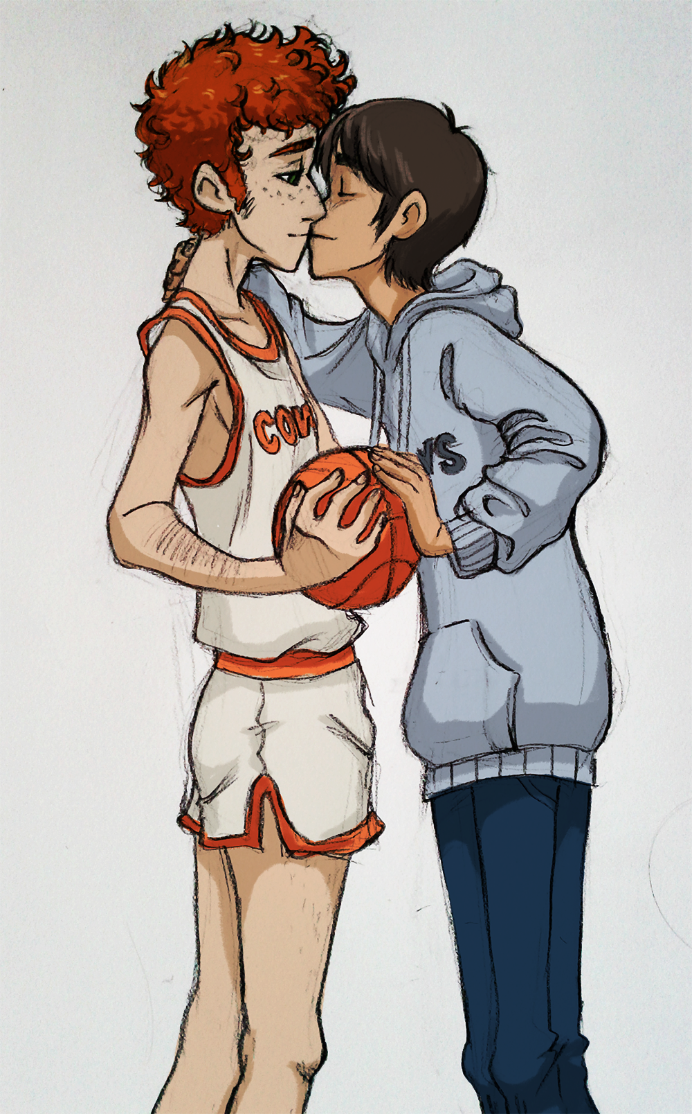 we playin basketball by Kayotics