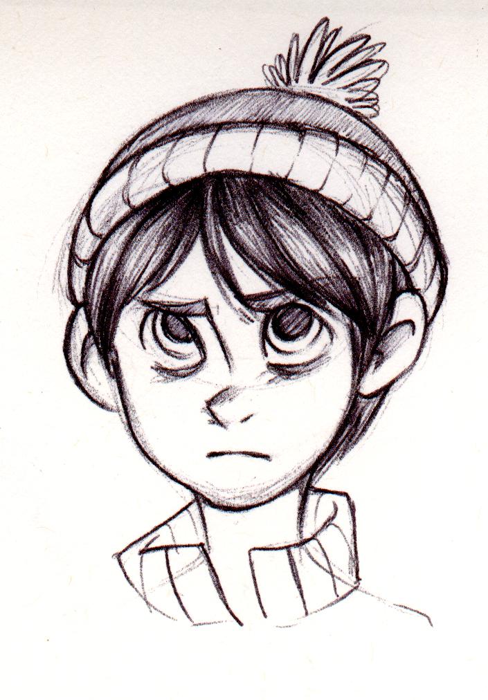 SP - Pen sketch by Kayotics